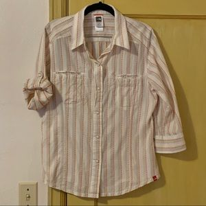 The North Face Striped Cotton Camp Shirt